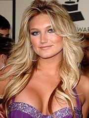 Brooke Hogan at the Grammy Awards.